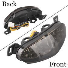 Rear Brake LED Tail light Turn Signals for Kawasaki ER-6N 2009 2010 2011 Smoke