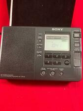 Sony FM Stereo SW/MW 12 Bands portable radio, local/world