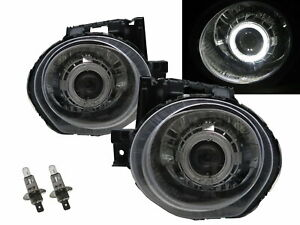Juke F15 MK1 11-14 Guide LED Angel-Eye Projector Headlight CH US for NISSAN LHD