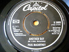 "PAUL McCARTNEY - ANOTHER DAY  7"" VINYL (CAPITOL LABEL)"