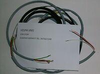IMPIANTO ELETTRICO ELECTRICAL WIRING VESPA 125 FARO BASSO VM1+SCHEMA ELETTRICO