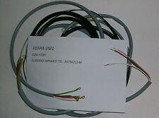 IMPIANTO ELETTRICO ELECTRICAL WIRING VESPA 125 VM1 CON SCHEMA ELETTRICO
