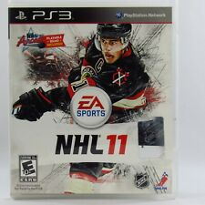 NHL 11 Hockey Sony Playstation 3 2010 PS3 Complete