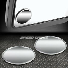 """PAIR 2""""UNIVERSAL ROUND STYLE CONVEX BACK/REAR TOW SIDE VIEW BLIND SPOT MIRROR"""