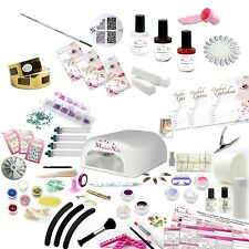 UV-Gel, Set XXXL, Nailart Set, Anja Beck, Magical-Nails