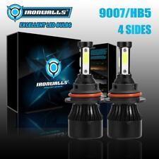 IRONWALLS 4-SIDES LED Headlight Bulbs 9007 HB5 Hi Lo Beam for Ford Ranger 01-11