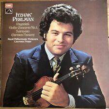 ASD 2782 Paganini Violin Concerto No.1 / Sarasate Carmen Fantasy / Perlman