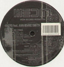 49ERS, FEAT. ANN MARIE SMITH - Got To Be Free - 1992 Media - MR 594