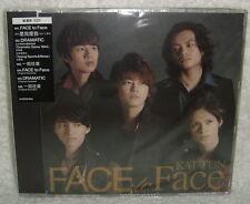 KAT-TUN FACE to Face 2013 Taiwan CD only「DRAMATIC」「Ano Hi no mama」