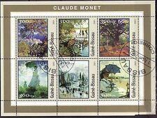 Guinee-Bissau 2001 - Kunst/Art/Gemälde (Monet)