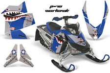 AMR RACING BRP SLED DECAL MX GRAPHIC WRAP KIT FREERIDE SKIDOO REV XP P40 WARHAWK