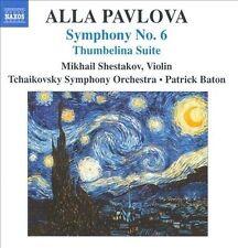 NEW - Symphony No 6 / Thumbelina Suite by PAVLOVA,ALLA