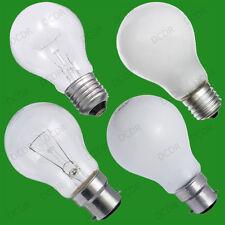 12x Dimmable GLS Standard Light Bulbs 25W 40W 60W 100W 150W 200W BC ES Lamps
