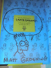 MATT GROENING SIGNED HARDBACK BOOK AUTOGRAPHED IN PERSON COA!