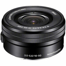 Spring Deals Sale Sony Sel 16-50mm f/3.5-5.6 Oss Lens - Black 16-50