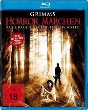 3er GRIMMS HORROR MÄRCHEN Hänsel und & Gretel DORNRÖSCHEN MASSAKER BLU-RAY Box