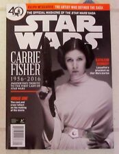 STAR WARS Official Magazine CARRIE FISHER 1956-2016 Insider Tribute 40th SAGA Ed
