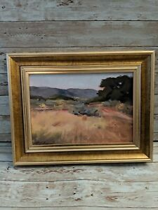 New with Defects Studio McGee 11x14 Framed Painting Landscape Art The Mesa