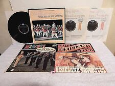 #171 Lot LPs+Marches Of All Nations 3 LP Set+Happy Dixieland Band+99 Men Marches