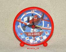 """Disney Planes """"Dusty"""" Alarm Wecker Kinderwecker Lernwecker Analog Uhr NEU OVP"""