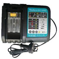 Li-Ion Batterie Ladegeraet 3A Ladestrom Fuer Makita 14,4 V 18 V Bl1830 Bl14 Q9C6