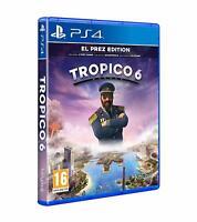 Tropico 6 El Prez Edition Sony Playstation 4 PS4 Game