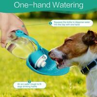 Tragbarer Hund Wasserflasche Haustier Spender Reise Feed Freien im T7H8