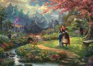 Schmidt Kinkade: Disney Mulan Blossoms of Love Jigsaw Puzzle (1000 Pieces)