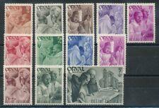 320543) Belgien Nr.553-564** Wiederaufbau der Abtei Orval