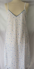 White with Blue Spots Nightie S/M *seconds*