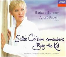 Sallie Chisum Remembers Billy the Kid: Songs by Copland, Bar - Disc Only No Case