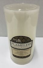 "Home & Room Flameless Led Candle Ivory 6"" (New)"