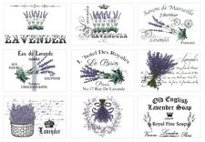 BÜGELBILD-Vintage-Shabby-French-Lavendel-Lavender-3308