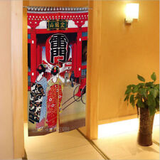 New Maiko Kaminarimon Pattern Room Divider Tapestry Japanese NOREN Door Curtain