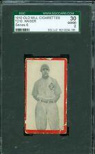 1910 T210-6 Old Mill - Kaiser - Paris (Blue Grass League) - SGC 30