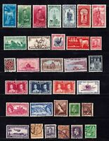 New Zealand stamps, small collection of 32 classics, mint & used, SCV $82.65