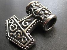El martillo de Thor acero inoxidable Big cadenas remolque Mjolnir Thor Hammer/617