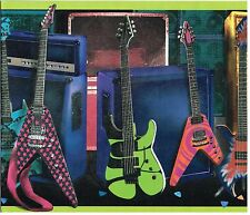 ELECTRIC GUITARS AND BASS AMPLIFIERS SPEAKERS Wallpaper Wall bordeR Decor