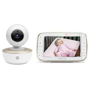 Motorola MBP855 Portable 5-Inch Color Screen Video Baby Monitor