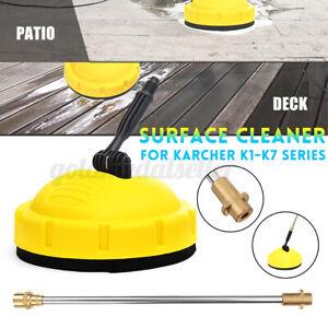 Hochdruckreiniger Bürste Oberflächenreiniger Rotierend Für Kärcher K1-K7 Series
