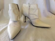ALDO womens ANKLE BOOTS WHITE size 36    US 6
