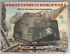 Schiffer Military Monograph German Tanks In World War I A7V Early Development