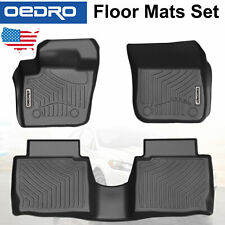 All-Weather Guard Unique TPE Floor Mats Liners Fit for 2013-2016 Ford Fusion