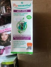 Puressentiel Anti-Lice Complete treatment, Lotion & Comb 100% natural 100ml
