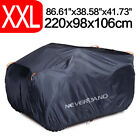 Quads ATV Cover Protection Waterproof Breathable for Honda Yamaha Can-Am Suzuki