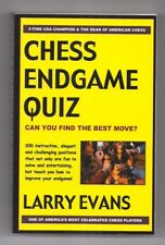 Paperback Chess Book Chess Endgame Quiz by Larry Evans