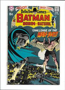DETECTIVE COMICS #400 [1970 VG+] 1ST APP MAN-BAT!   NEAL ADAMS ART!
