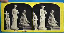 1862 Stereoview The International Exhibition No101 The Sybil Roman Court NR
