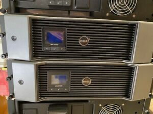 Dell UPS 2700w 230V 3U Rack Mount UPS Back Up Power Supply MODEL J727N