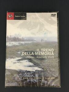 DVD IL TRENO DELLA MEMORIA FIRENZE AUSCHWITZ 2009 REGIONE TOSCANA NUOVO (MIS) )